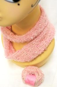Pink African Bead Ball